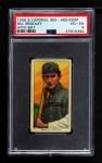 1909 T206 BAT Bill Bradley  Front Thumbnail
