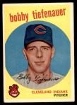 1959 Topps #501  Bob Tiefenauer  Front Thumbnail