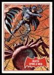1966 Topps Batman Red Bat #18   Death Spins a Web Front Thumbnail
