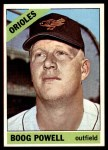 1966 Topps #167  Boog Powell  Front Thumbnail