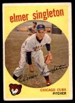 1959 Topps #548  Elmer Singleton  Front Thumbnail