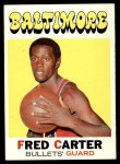 1971 Topps #14  Fred Carter   Front Thumbnail