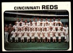 1973 Topps #641   Reds Team Front Thumbnail