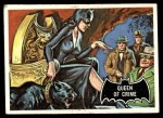 1966 Topps Batman Black Bat #26   Queen of Crime Front Thumbnail