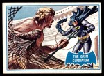 1966 Topps Batman Blue Bat Puzzle Back #7   The Grim Gladiator Front Thumbnail