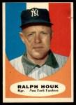 1961 Topps #133  Ralph Houk    Front Thumbnail