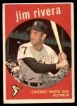 1959 Topps #213  Jim Rivera  Front Thumbnail