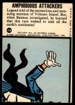 1966 Topps Batman Blue Bat Puzzle Back #10   Amphibious Attackers Back Thumbnail