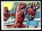 1966 Topps Batman Blue Bat Puzzle Back #10   Amphibious Attackers Front Thumbnail