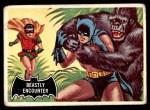 1966 Topps Batman Black Bat #50   Beastly Encounter Front Thumbnail