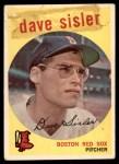 1959 Topps #384  Dave Sisler  Front Thumbnail