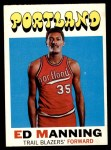 1971 Topps #122  Ed Manning  Front Thumbnail