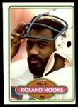 1980 Topps #167  Roland Hooks  Front Thumbnail