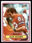 1980 Topps #176  Jack Dolbin  Front Thumbnail