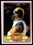 1980 Topps #43  Ken Clark  Front Thumbnail
