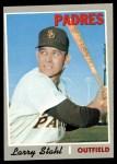1970 Topps #494  Larry Stahl  Front Thumbnail