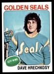 1975 Topps #156  Dave Hrechkosy   Front Thumbnail