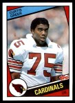 1984 Topps #344  Curtis Greer  Front Thumbnail