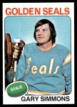 1975 Topps #29  Gary Simmons   Front Thumbnail