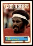 1983 Topps #284  Joe Delaney  Front Thumbnail