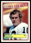 1983 Topps #296  Chris Bahr  Front Thumbnail
