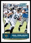 2016 Score #157  Paul Posluszny  Front Thumbnail
