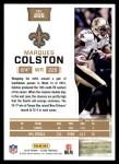 2016 Score #205  Marques Colston  Back Thumbnail