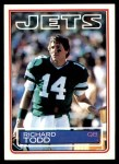 1983 Topps #353  Richard Todd  Front Thumbnail