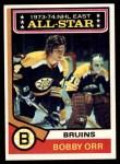 1974 Topps #130   -  Bobby Orr All-Star Front Thumbnail