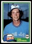1981 Topps #506  Phil Huffman  Front Thumbnail