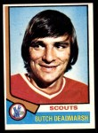 1974 Topps #73  Butch Deadmarsh  Front Thumbnail