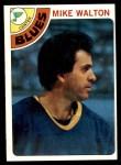 1978 Topps #38  Mike Walton  Front Thumbnail