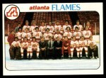 1978 Topps #192   Flames Team Checklist Front Thumbnail