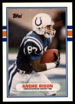 1989 Topps Traded #102 T Andre Rison  Front Thumbnail