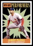 2007 Topps Heritage New Age Performers #10 NAP Albert Pujols  Front Thumbnail