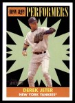 2007 Topps Heritage New Age Performers #6 NAP Derek Jeter  Front Thumbnail