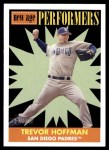 2007 Topps Heritage New Age Performers #5 NAP Trevor Hoffman  Front Thumbnail
