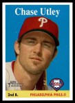 2007 Topps Heritage #230  Chase Utley  Front Thumbnail