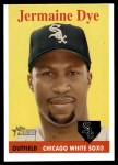 2007 Topps Heritage #177  Jermaine Dye  Front Thumbnail
