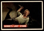 1956 Topps Davy Crockett Orange Back #80   Bowie's Last Stand  Front Thumbnail