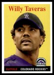 2007 Topps Heritage #49  Willy Taveras  Front Thumbnail