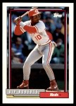 1992 Topps Traded #92 T Bip Roberts  Front Thumbnail