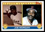 1983 Topps #604   -  Joe Morgan Super Veteran Front Thumbnail