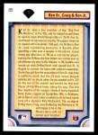 1992 Upper Deck #85  Ken Griffey Jr. / Griffey Family  Back Thumbnail