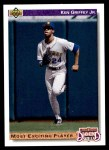 1992 Upper Deck #650  Ken Griffey Jr.  Front Thumbnail