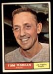 1961 Topps #272  Tom Morgan  Front Thumbnail