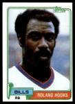1981 Topps #404  Roland Hooks  Front Thumbnail