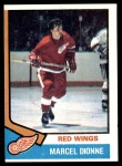 1974 Topps #72  Marcel Dionne  Front Thumbnail