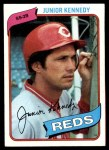 1980 Topps #377  Junior Kennedy  Front Thumbnail