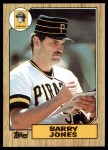 1987 Topps #494  Barry Jones  Front Thumbnail